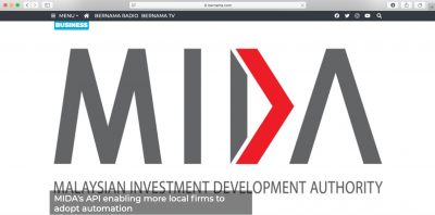 XTS Invited to attend MIDA's API enabling more local firms to adopt automation