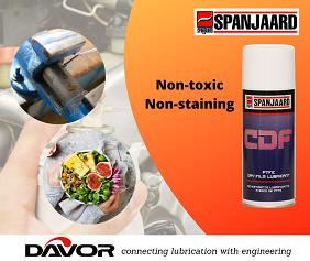 Used for dry lubrication and is ideal for the food, paper,plastics, textile & wood industries