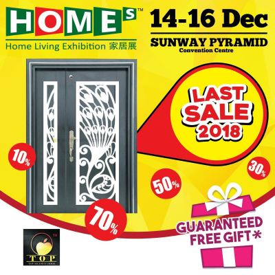 Exhibition At Sunway Pyramid Convention Centre 14-16 Dec 2018 11am - 9pm ( Home Living Exhibition )