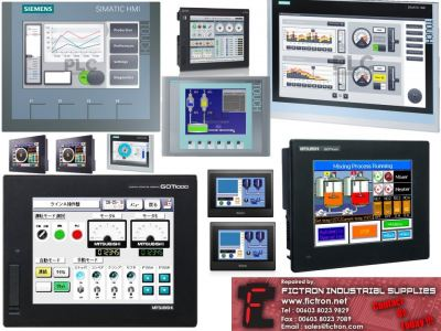 HMI Repair Service with 12 Months Warranty By FICTRON