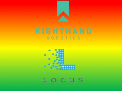 Locus Robotics collaboration partnership with RightHand Robotics