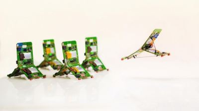 Swarm Robots Mimic Ant Jaws to Flip and Jump