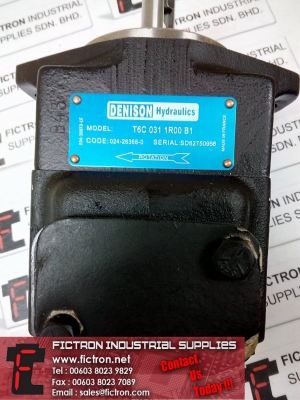 DENISON T6C Series Single Vane Pump Supply by Fictron Malaysia Singapore Thailand Indonesia