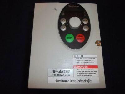 Repair Service Sumitomo Inverter HF-320 Alpha Series Sensorless Vector Drive Malaysia Singapore