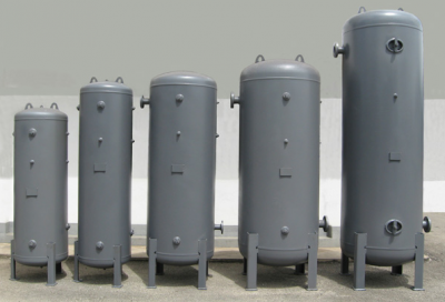 Vacuum Air Receiver Tank