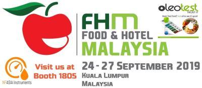 Visit us at Food & Hotel Malaysia 2019