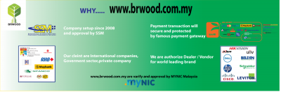 Why choose www.brwood.com.my as e-commerce website