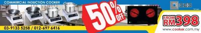 DISCOUNT UP TO 50% OFF ! !
