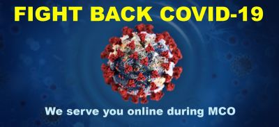FIGHT BACK COVID-19. WE ARE HERE TO HELP YOU!