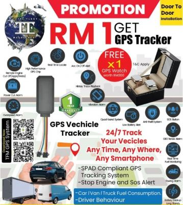 GPS Tracking Aug Promotion