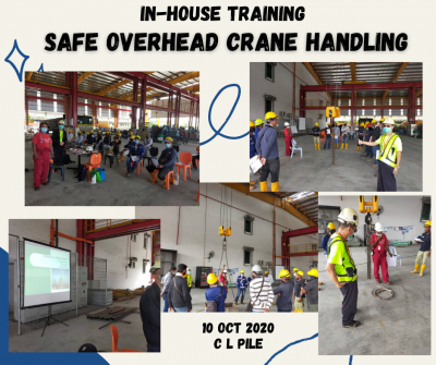 In House Training Program for Safe Overhead Crane Handling at CL Pile Sdn Bhd
