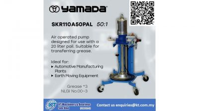 Yamada Air Operated Pump SKR110A50PAL