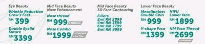 Eye Beauty ��Mid Face Beauty Nose Enhancement ��Mid Face Beauty 3D Face Contouring ��Lower Face Beauty