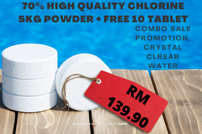 USE this combo match 5KG High Quality Calcium Hypochlorite + FREE 10 tablet