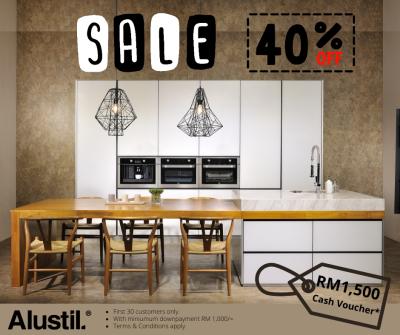 Alustil Kitchen - Big Sale!!! Aluminium Kitchen Cabinet