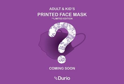 Adult & Kid's Printed Face Mask (Limited Edition)