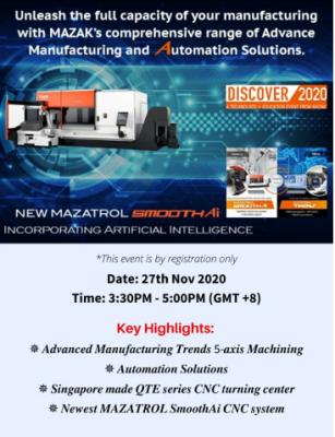 Mazak Webinar_DISCOVER 2020