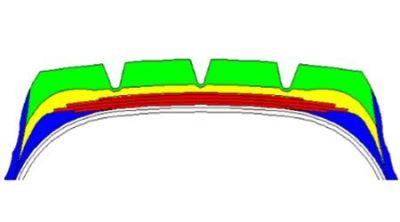 LHG-Sub Rubber: Low Heat Generation Sub Rubber