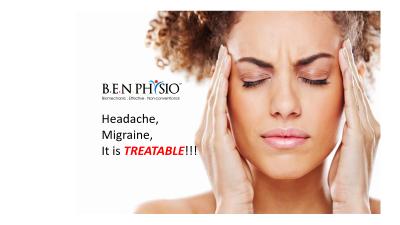 Migraine / Headache, It is treatable.
