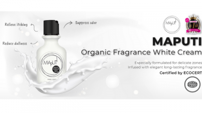 No more worries about dull skin and odour with Maputi Organic Frgrance Whitening Cream