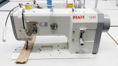 pfaff leather sewing machine new & complete set