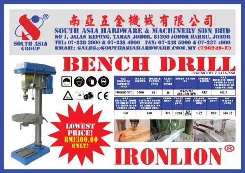 IRONLION BENCH DRILL