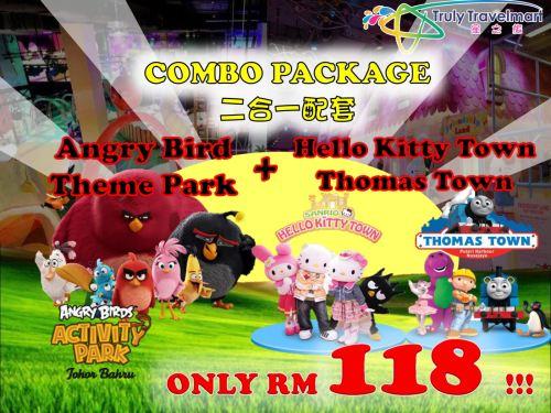 Angry Bird Theme Park + Hello Kitty Town Thomas Town