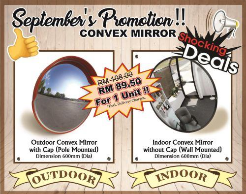 September's Promotion - Convex Mirror
