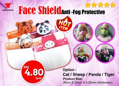 Cartoon Kids Face Shield RM4.80 only!!