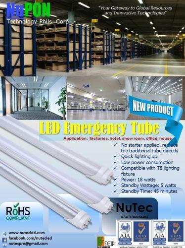 LED EMERGENCY TUBE
