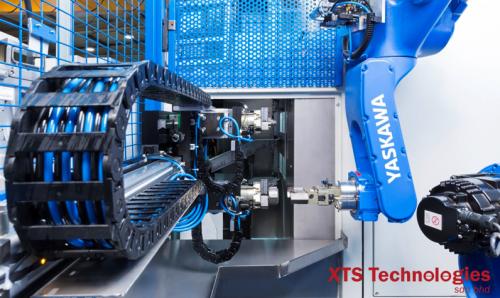 Yaskawa Four Motoman Handling Robot Malaysia