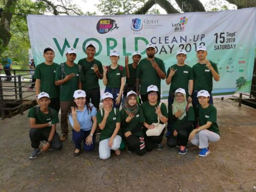 World clean up day 15/09/2018