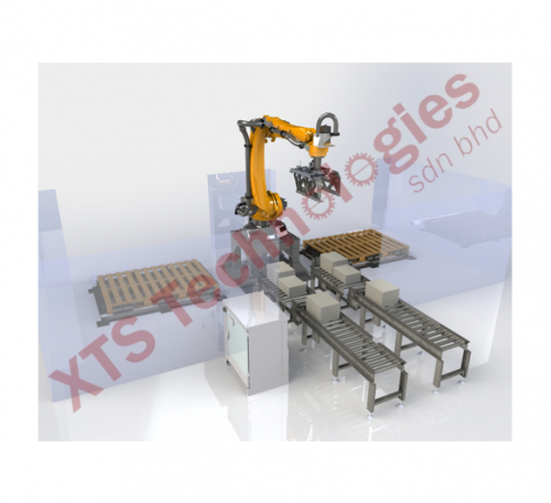 Carton Palletizing Station by XTS Technologies