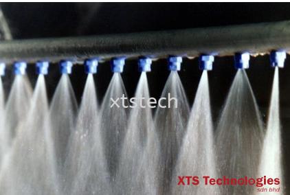 多功能水喷雾超声清洗设备