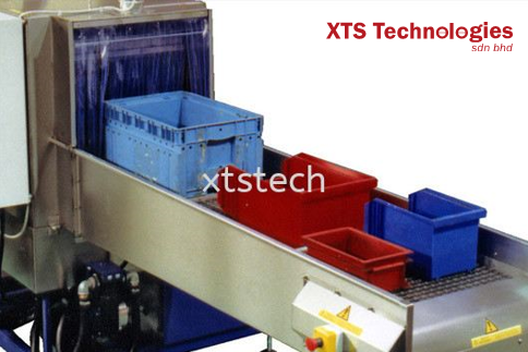 XTRON输送机隧道喷雾洗涤和干燥系统