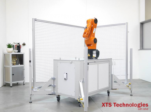 🏭 Mobile Robot Application for Small and Medium-sized Enterprises (SMEs) by KUKA