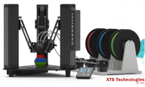 [ DOBOT Malaysia ] 🔴🔵🟢 The Most Effective Color Mixing 3D Printer by DOBOT MOOZ-3  🔴🔵🟢