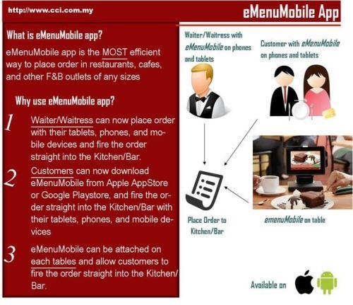 e-Menu Mobile Application