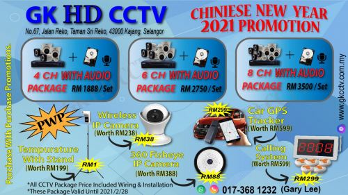 CHINESE NEW YEAR PROMOTION 2021