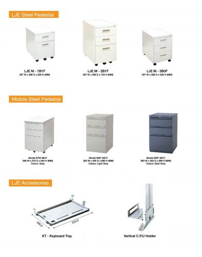 MOBILE PEDESTAL & ACCESSORIES