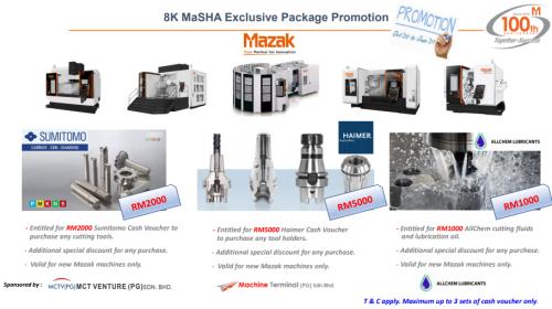 Mazak Promotion 8k MaSHA