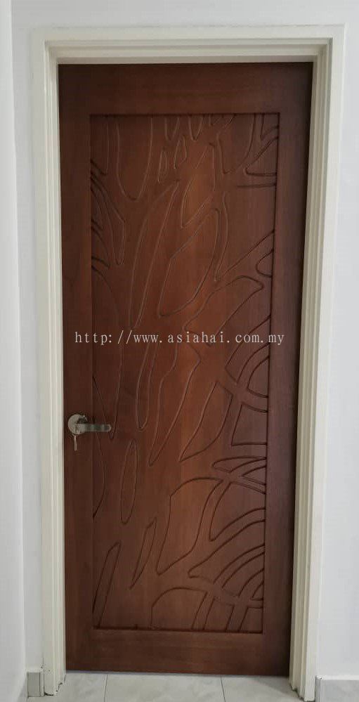 Natural Pattern Decorative Door
