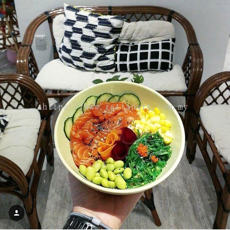 Rattan Art Supplies To Lush Bowl Cafe