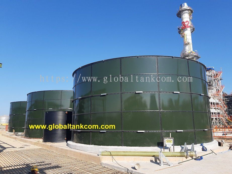 Project completion August 2020 ~ Glass Fused Steel Tank at Petronas Sg.Udang Melaka