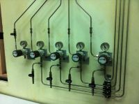 Inline Piping System in LAB