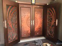 Project Security Door Powder Coated @Dagang Permai,Ampang