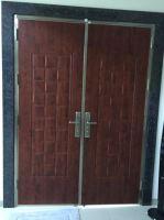 Security Stainless Steel Double 6ft Door