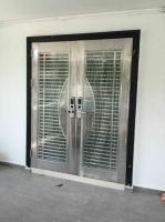 Project Security Door With Smart Lock @Glenmarie, Subang Jaya