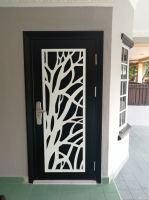 Project Security Door Powder Coated @Kosas 2/9,Taman Kosas Ampang