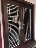 Project Security Powder Coated Door@Jln 2/15,Bukit Indah Ampang